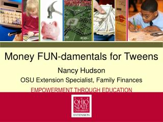 Money FUN-damentals for Tweens