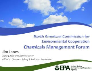 North American Commission for Environmental Cooperation  Chemicals Management Forum