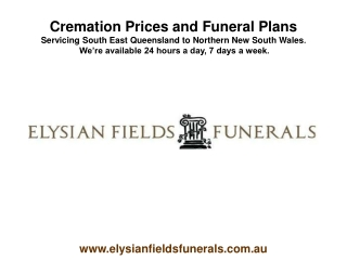 Cremation Prices and Funeral Plans