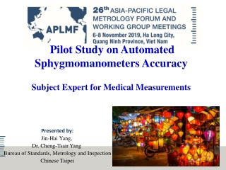 Automated Metrology and Inspection