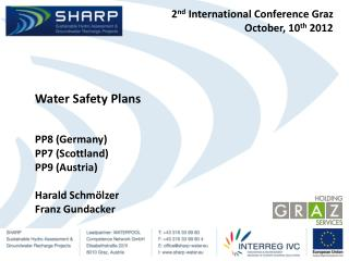 2nd International Conference Graz October, 10th 2012