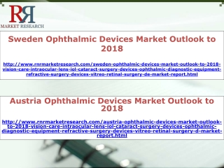 Sweden and Austria Ophthalmic Devices Market For Vision Care
