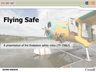 Flying Safe