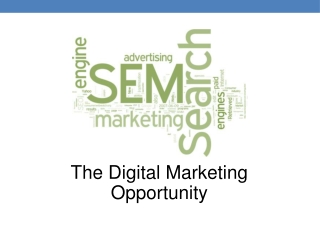 Search Marketing Presentation - Toronto Feb 2013