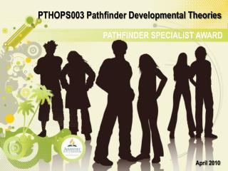 PATHFINDER SPECIALIST AWARD