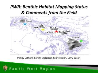 PWR: Benthic Habitat Mapping Status  Comments from the Field