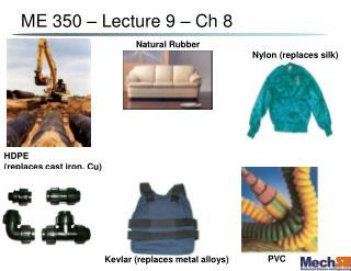ME 350   Lecture 9   Ch 8