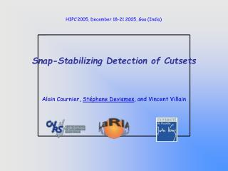 Snap-Stabilizing Detection of Cutsets