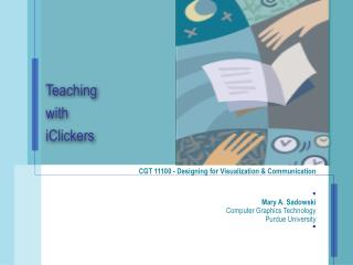 Teaching  with iClickers