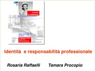 Identit   e responsabilit  professionale