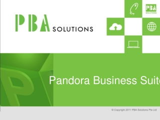 Customized ERP and CRM Software Solutions - PBASolutions