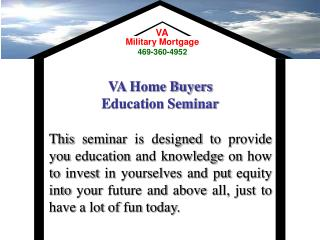 VA Home Buyers