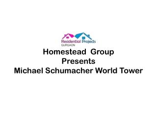 Michael Schumacher World Tower Sector 109 Gurgaon | 95993633