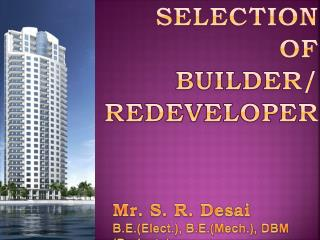 SELECTION  OF  BUILDER