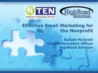 Effective Email Marketing for the Nonprofit