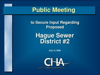 Hague Sewer District 2
