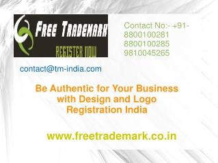 Your Business with Design and Logo Registration India