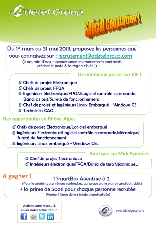 Concours Cooptation Adetel