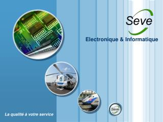 Electronique  Informatique