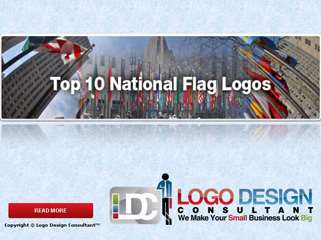 Top 10 National Flags Logos