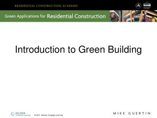 Introduction to Green Building