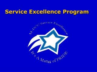Service Excellence Program