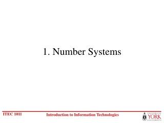 Information Technologies: