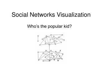 Social Networks Visualization
