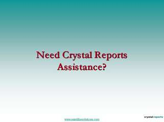 Crystal Report Development