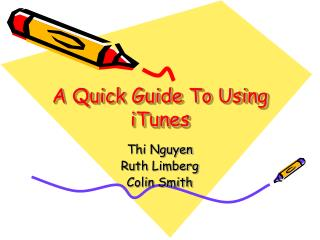A Quick Guide To Using iTunes