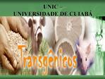 UNIC    UNIVERSIDADE DE CUIAB