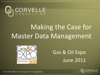 Making the Case for Master Data Management
