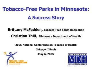 Tobacco-Free Parks in Minnesota: A Success Story
