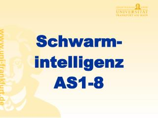 Schwarm-intelligenz AS1-8