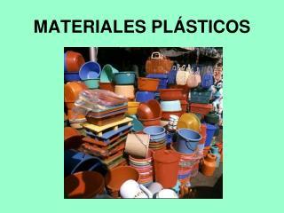 MATERIALES PL STICOS