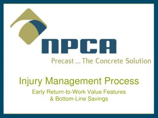 Injury Management Process