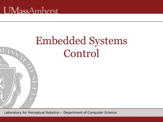 Embedded Systems Control