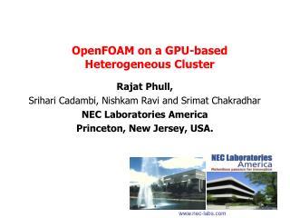 OpenFOAM on a GPU-based Heterogeneous Cluster