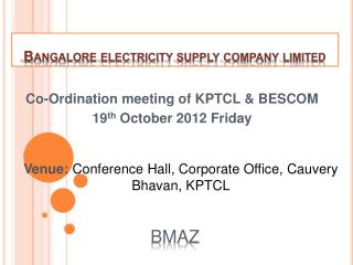 Bangalore electricity supply company limited