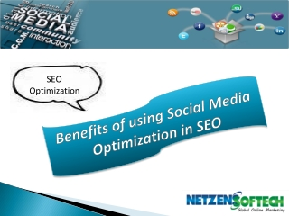 Benefits of using Social Media Optimization in SEO