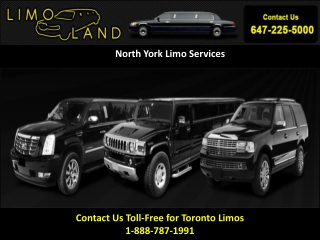 Toronto Limousines,Limo Services In Toronto,North York Limo