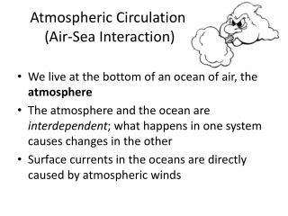 Atmospheric Circulation  Air-Sea Interaction