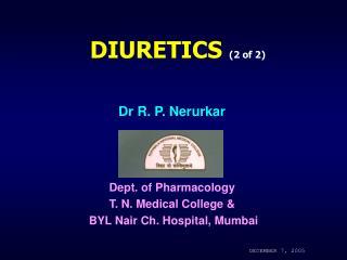 DIURETICS 2 of 2