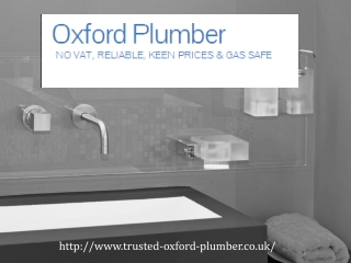 oxford plumbers,oxford  plumber