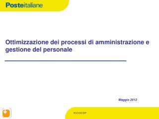 Ottimizzazione dei processi di amministrazione e gestione del personale