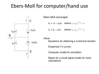 Ebers-Moll for computer