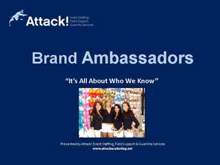Promotional Agency Case Studies: Brand Ambassadors