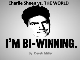 Charlie Sheen Project