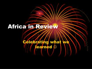 Africa in Review
