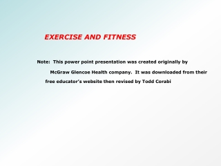 Resistance Training for Muscular Strength and Endurance